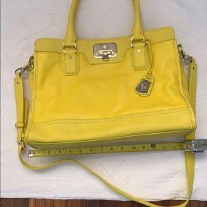 Handbags - Cole Hahn Canary yellow big bag